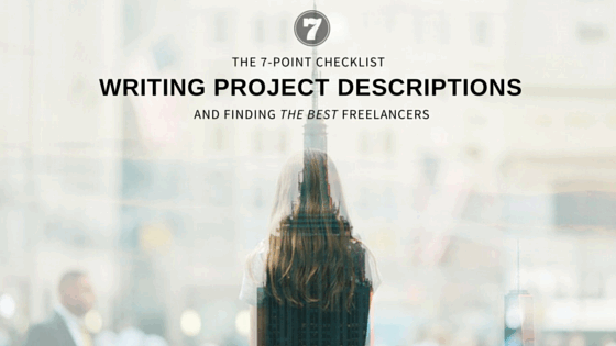 The 7-Point Checklist For Writing Project Descriptions
