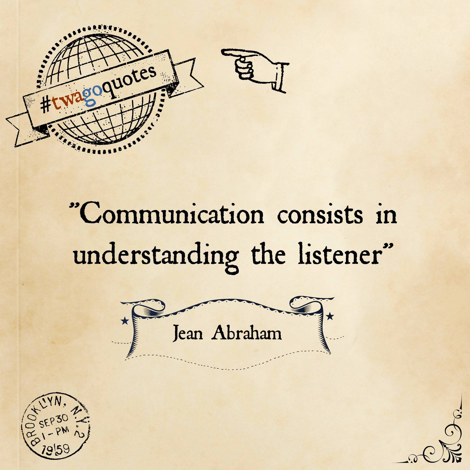 Communication is king