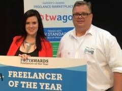 twago at the 2015 Freelancer of the Year Awards