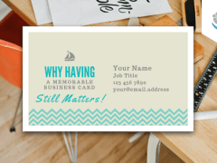 Why Having a Memorable Business Card (Still) Matters