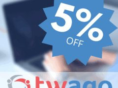twago coupon codes: 5% off all twago memberships during September