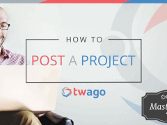 How to Post a Project on twago