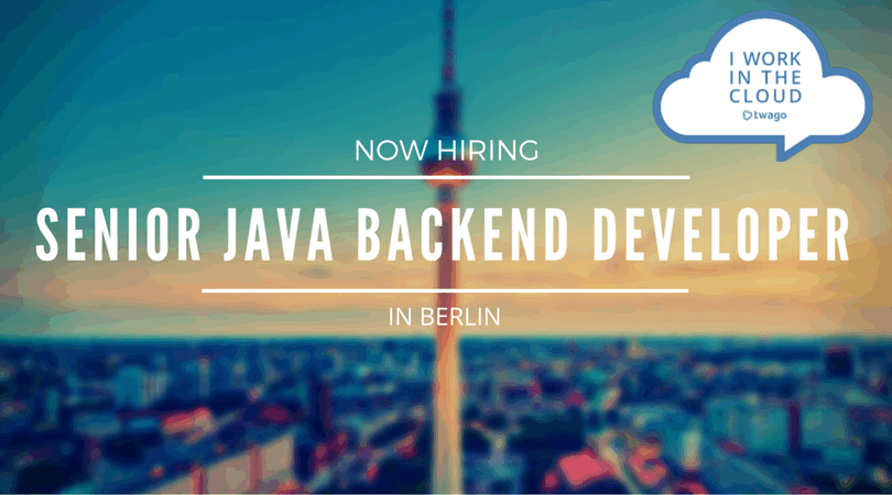 Senior Java Backend Developer | twago blog