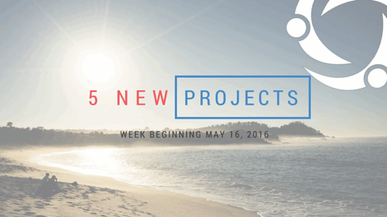 New Freelance Projects – May 2016