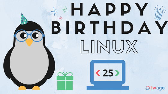 Happy Birthday, Linux!