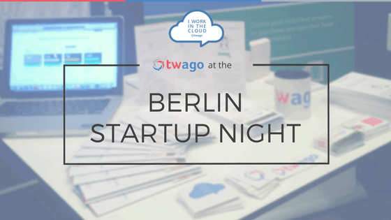 twago at Berlin Startup Night 2016 @Microsoft Berlin