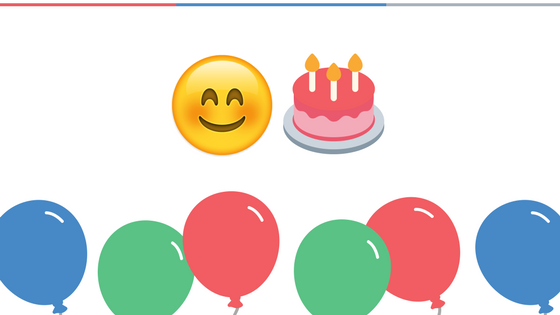 Happy Birthday Emoticons!
