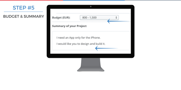Step 5: Choose a budget for your project
