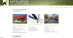 Website Ingenieurbüro