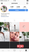 Instagram Photography for a Beauty Product