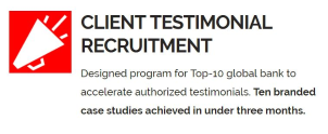 Client Testimonial Recruitment