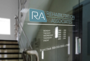 Logo for rehabilitation medical practice