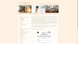 Translation of a cosmetic surgery website
