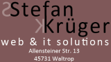 Stefan Krüger web & it solutions