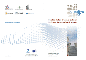 Handbook for Creative Cultural Heritage Cooperation
