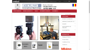 eCommerce site selling industrial instruments