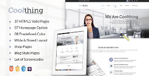 Coolthing - Multi-Purpose WordPress Theme