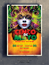 Cinco de Mayo Flyer Design